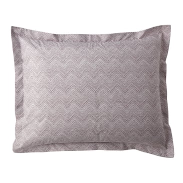 Herringbone Hues of Bubblegum Pink by Friztin Herringbone Sheet Set Pink Orange  Sheet Set  with Spoonflower Fabrics