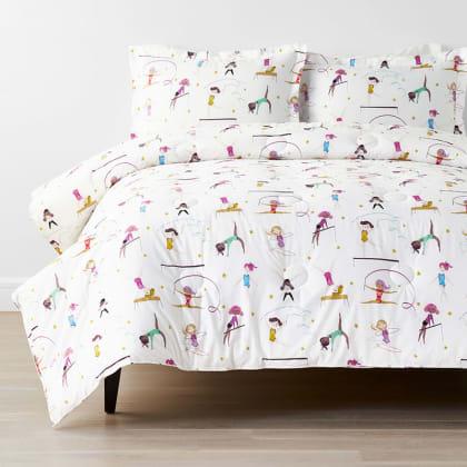 Company Kids™ Little Gymnasts Organic Cotton Percale Comforter Set
