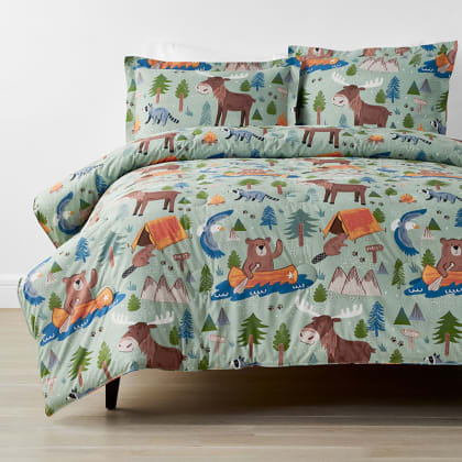 Company Kids™ Wilderness Camp Organic Cotton Percale Comforter Set