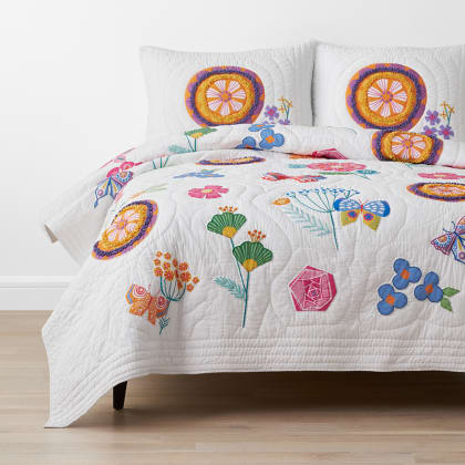 Company Kids™ Springtime Handcrafted Cotton Quilt