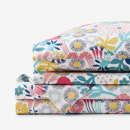 Company Kids™ Floral Organic Cotton Percale Sheet Set