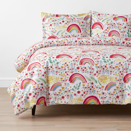 Company Kids™ Rainbow Organic Cotton Percale Duvet Cover Set