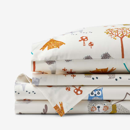 Company Kids™ Forest Campers Organic Cotton Percale Sheet Set