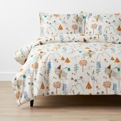 Company Kids™ Forest Campers Organic Cotton Percale Duvet Cover Set