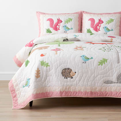 Company Kids™ Woodland Handcrafted Cotton Quilt