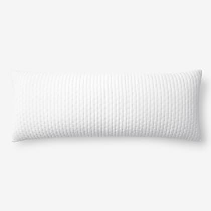 Legends Luxury™ Paloma Cotton Velvet Decorative Pillow Cover - White