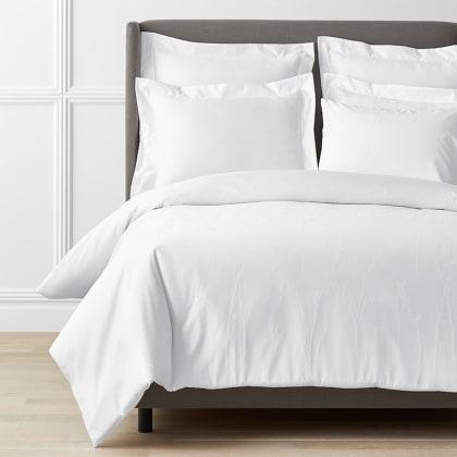 Legends Luxury™ Jacquard Floral Supima® Cotton Wrinkle-Free Duvet Cover