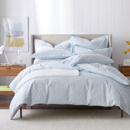 Cotton Percale Duvet Covers The Company Store