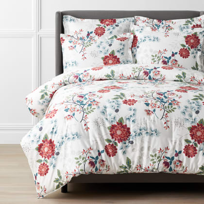 Legends Luxury™ Winter Bouquet Sateen Comforter