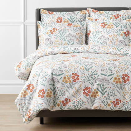Legends Luxury™ Floral Velvet Cotton Flannel Duvet Cover