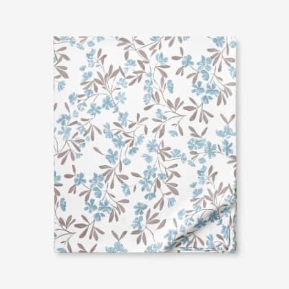 Legends Luxury™ Wild Floral Velvet Cotton Flannel Flat Sheet