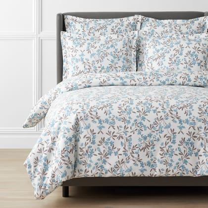 Legends Luxury™ Wild Floral Velvet Cotton Flannel Duvet Cover