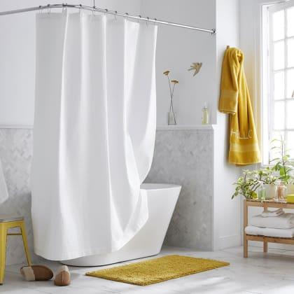 Company Cotton™ Shower Curtain - White