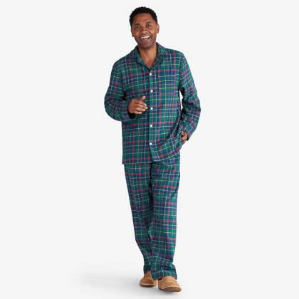 Company Cotton™ Family Flannel Mens Classic Pajama Set