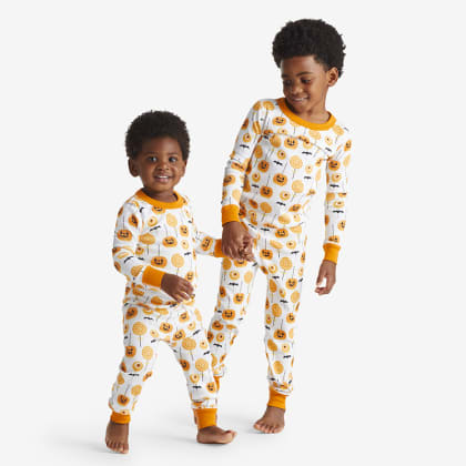Company Organic Cotton™ Matching Family Pajamas - Kids' Pajama Set - Pumpkin