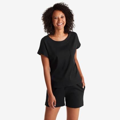 Legends Luxury™ Pima Cotton Shorts Set - Black