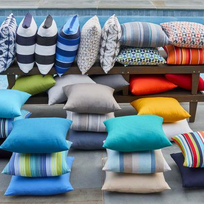 Sunbrella® Outdoor Toss Pillows