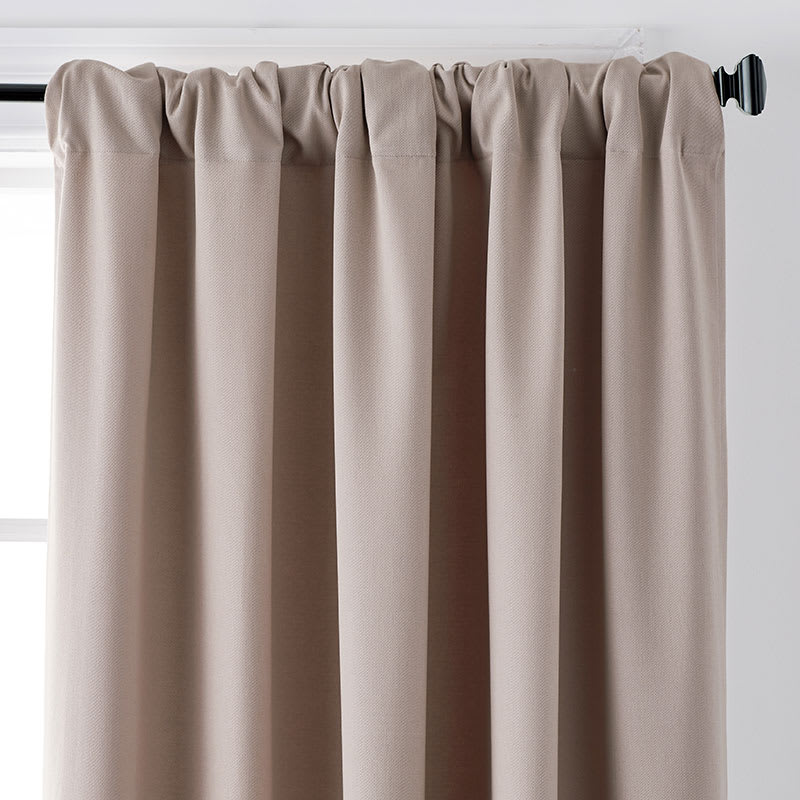 Brushed Cotton Twill Window Curtain   The Company Store