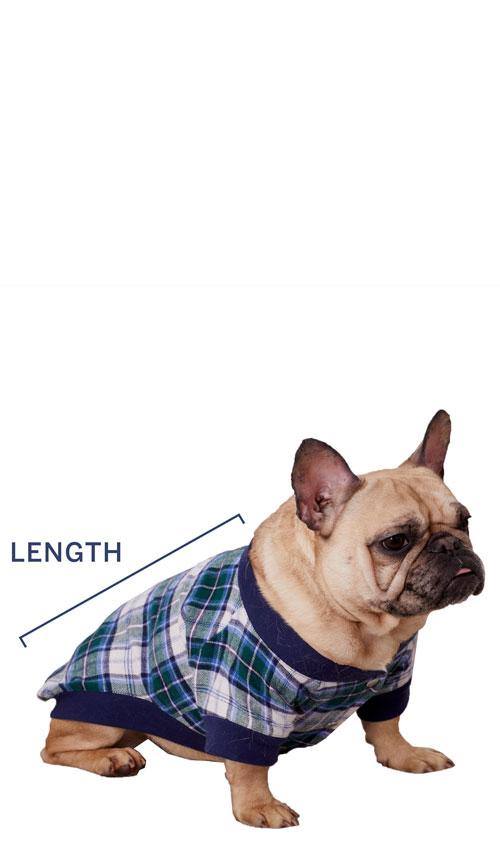 Dog Pajamas Sizing