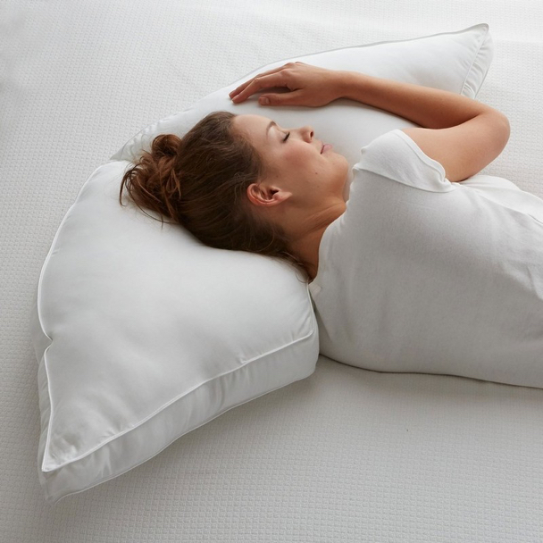 Half Moon Side Sleeper Pillow