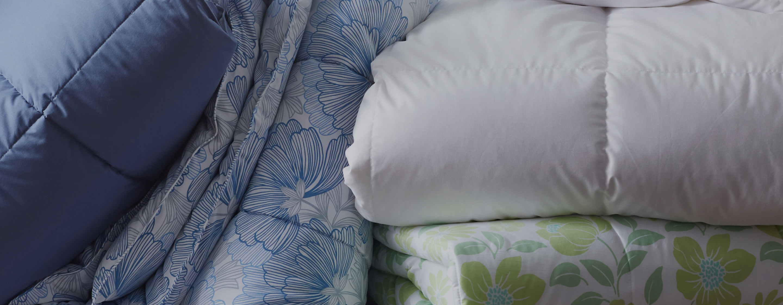 stack of Comforters