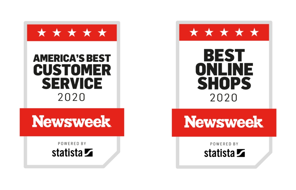 Newsweek's America's Best Customer Service 2020 Award Badge